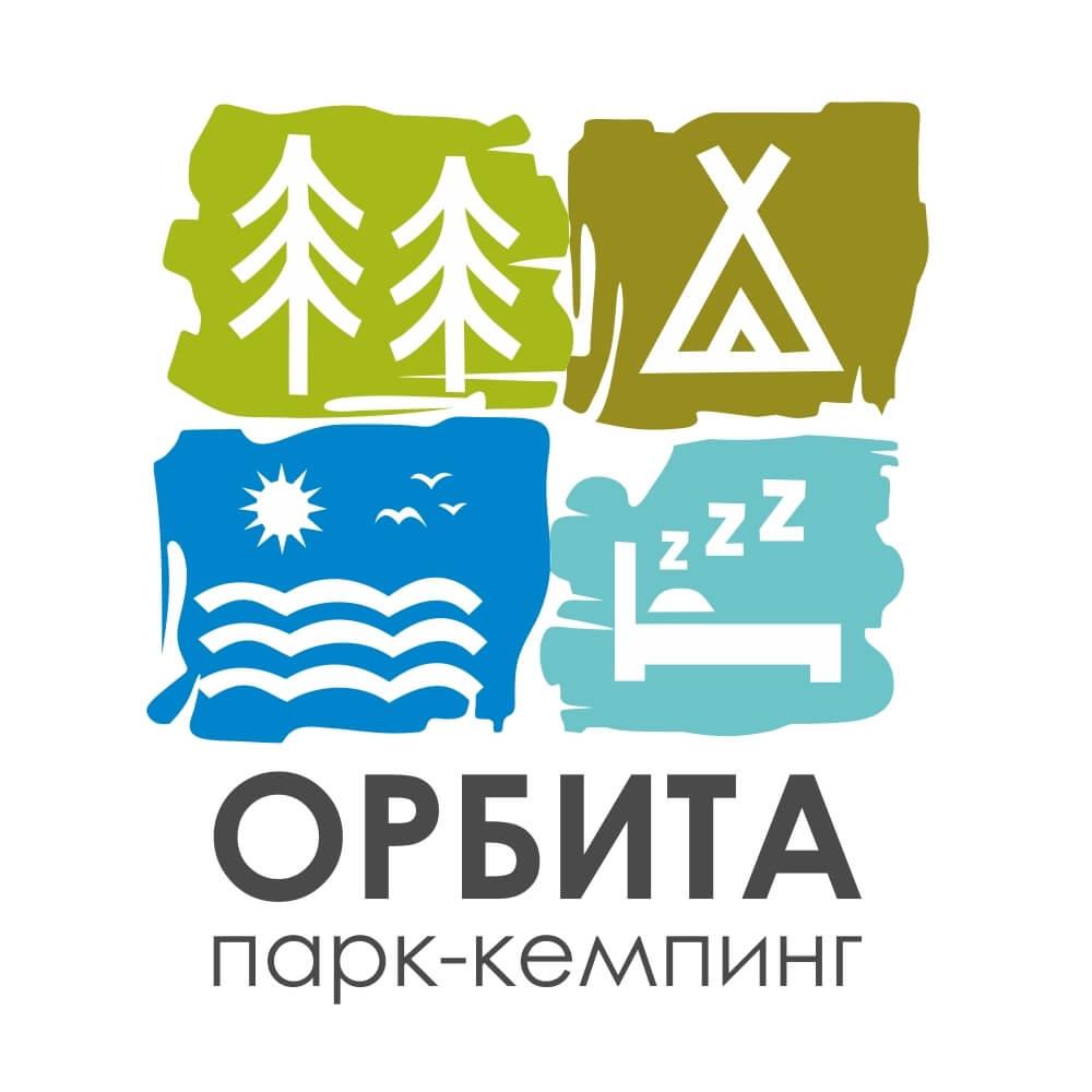 Логотип кемпинга Орбита